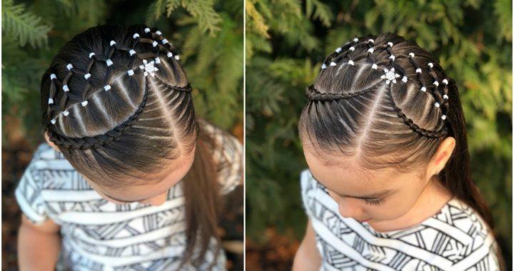 Peinado Para Ninas Facil Y Rapido Con Ligas Colaboracion Aprendiendo