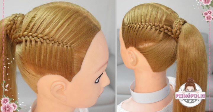 Coletas Faciles Con Trenzas Para Niñas Peinados Rapidos Y