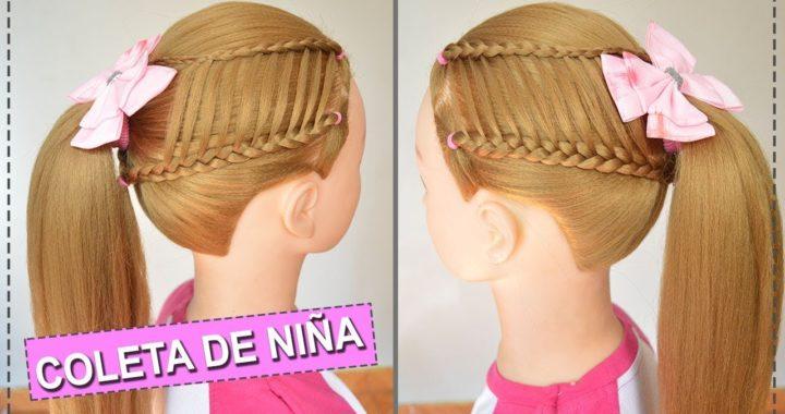 Coletas Peinados Con Trenzas Para Niñas Faciles Y Rapidos
