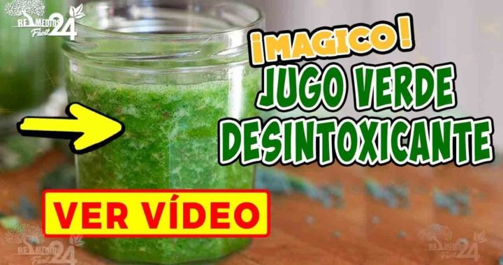 Receta de jugo verde para adelgazar