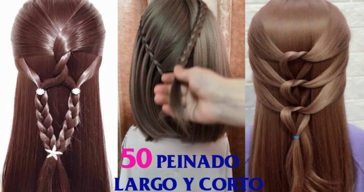 50 Peinado Bonitos Peinados Cabello Peinado Para Nina Peinados