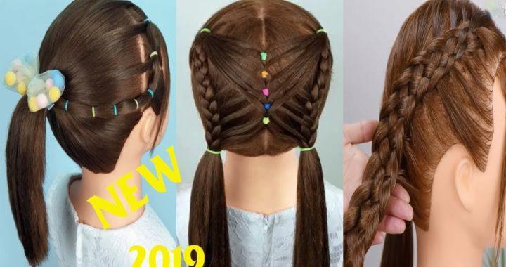 5 Peinados Para La Escuela Peinados Para Ninas Peinados Faciles Y
