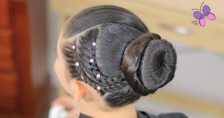 Peinado Elegante Fácil Para Niña Peinados Fáciles Para