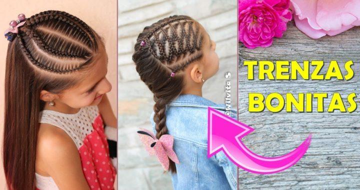 Peinados Para Ninas Peinados Faciles Y Rapidos Con Trenzas Para