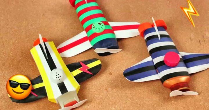 De Como Aviones Hacer Con PlásticoDiyManualidades Botellas uFKcl5TJ31