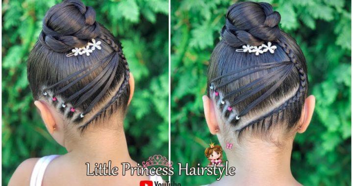 Peinado Elegante Recogido Alto Facilpeinados Faciles Para